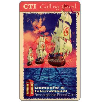 Phonecard for sale: CTI - Flying vessels