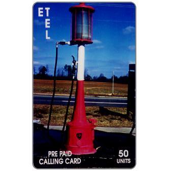 Phonecard for sale: E.T. Tel - Margolis Gas Pump
