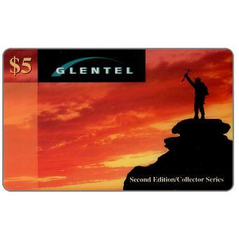Phonecard for sale: Glentel - Mountain climber, specimen, $5