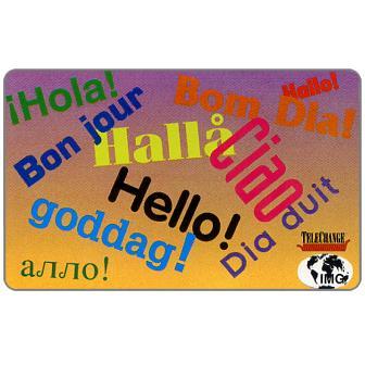 Phonecard for sale: IMG - Telechange 'Hello'
