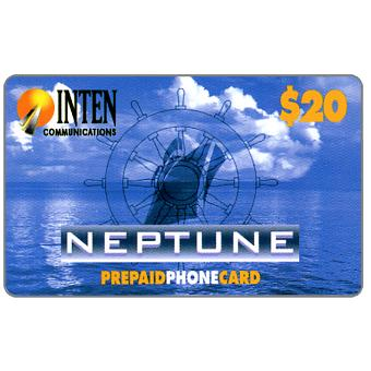 Phonecard for sale: Inten Communications - Neptune, $20