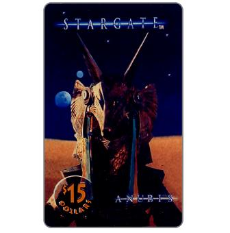 Phonecard for sale: Phone Line USA - Stargate, Anubis, $15