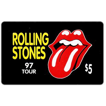 Phonecard for sale: Rolling Stones - 97 Tour, $5