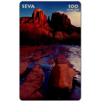 Phonecard for sale: Seva - Oak Creek Canyon, specimen, 100 minutes