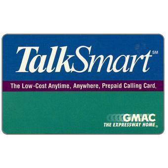 Phonecard for sale: GMAC - TalkSmart specimen, white back
