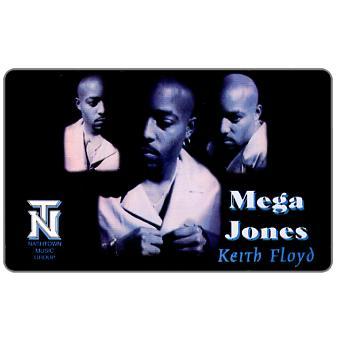 Phonecard for sale: Telethoughts - Mega Jones Keith Floyd, specimen