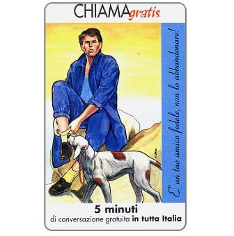 Phonecard for sale: Non l'abbandonare 2/5, 5 min.