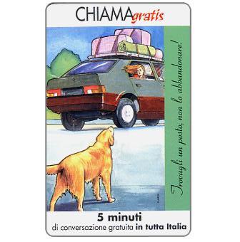 Phonecard for sale: Non l'abbandonare 3/5, 5 min.