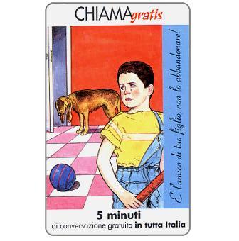 Phonecard for sale: Non l'abbandonare 4/5, 5 min.