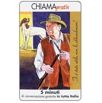 Phonecard for sale: Non l'abbandonare 5/5, 5 min.