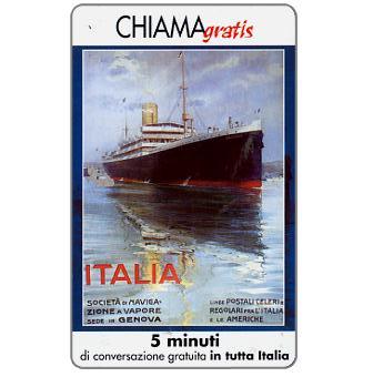 Phonecard for sale: Manifesti Compagnie Marittime 2/12, 5 min.