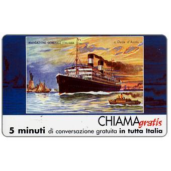 Phonecard for sale: Manifesti Compagnie Marittime 3/12, 5 min.
