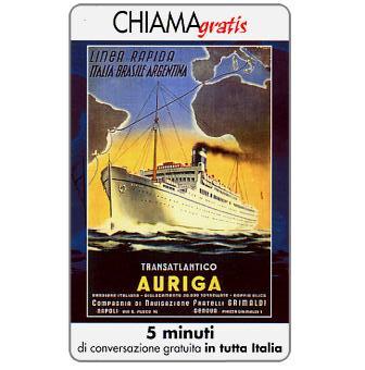 Phonecard for sale: Manifesti Compagnie Marittime 5/12, 5 min.