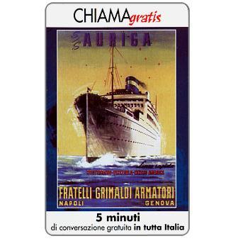 Phonecard for sale: Manifesti Compagnie Marittime 6/12, 5 min.