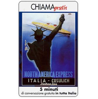 Phonecard for sale: Manifesti Compagnie Marittime 9/12, 5 min.