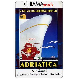 Phonecard for sale: Manifesti Compagnie Marittime 12/12, 5 min.