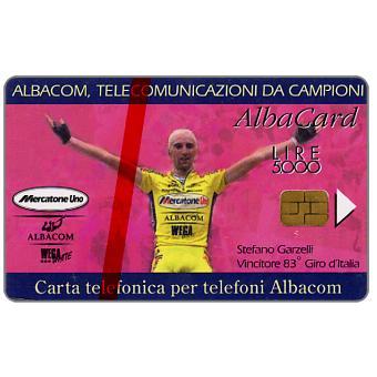 Phonecard for sale: Garzelli Yellow Shirt, L.5000