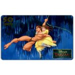 The Phonecard Shop: Westel Intelcom - Disney's Tarzan, Flying Tarzan, 50 units