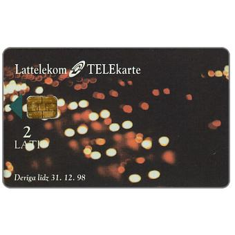 Phonecard for sale: Meta Systems, alien, 2 Lati