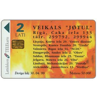 Phonecard for sale: Jotul, 2 Lati