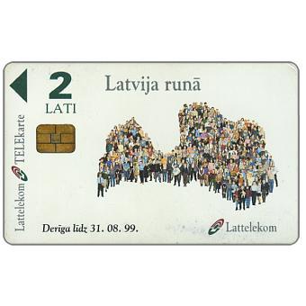 Phonecard for sale: People, 2 Lati