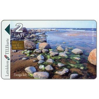 Stones on Baltic seashore, 2 Lati