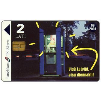 Phonecard for sale: Phonebooth, 2 Lati