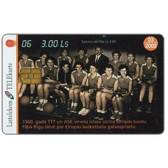Phonecard for sale: Basketball 6, 3Lati