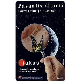 Phonecard for sale: Takas, 50 units