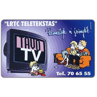 Phonecard for sale: Tavo TV, 50 units
