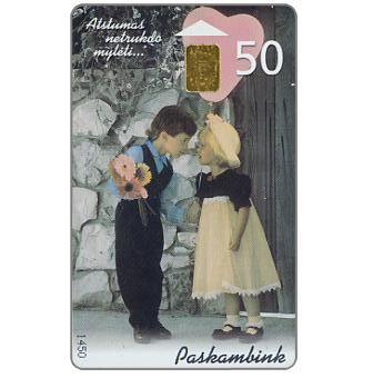 Phonecard for sale: St.Valentin's Day 2000, 50 units