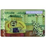 The Phonecard Shop: Tiscali, Ricaricasa, Organino blu, L.50000