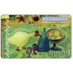 The Phonecard Shop: Tiscali, Ricaricasa, Picnic in campagna, L.50000