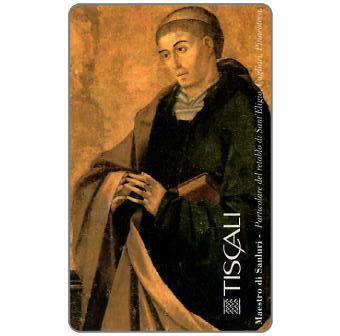 Phonecard for sale: Maestro di Sanluri - Retablo S. Eligio, L.20000