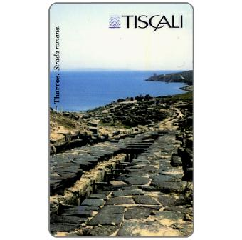 Phonecard for sale: Tharros - Strada romana, L.20000