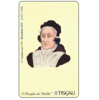 Phonecard for sale: 17° Giubileo 1750 - Benedetto XIV, L.10000