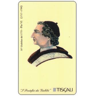 Phonecard for sale: 18° Giubileo 1775 - Pio VI, L.10000