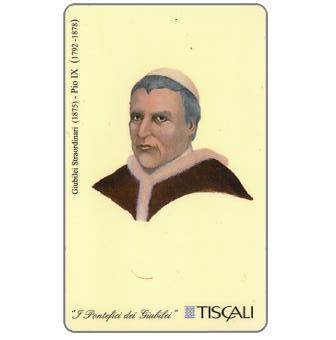 Phonecard for sale: Giubileo Straordinario 1875 - Pio IX, L.10000