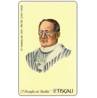 Phonecard for sale: 21° Giubileo 1925 - Pio XI, L.10000