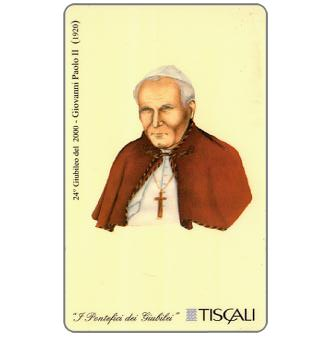 Phonecard for sale: 24° Giubileo 2000 - Giovanni Paolo II, L.10000