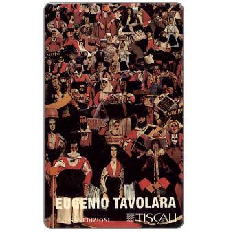 The Phonecard Shop: Tiscali, Ed. Ilisso - Eugenio Tavolara, L.10000