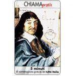 The Phonecard Shop: Personaggi n. 66 – René Descartes (Cartesio), 5 min.