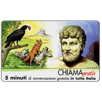 Phonecard for sale: Personaggi n. 13 – Esopo, 5 min.