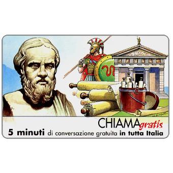 Phonecard for sale: Personaggi n. 17 – Erodoto, 5 min.