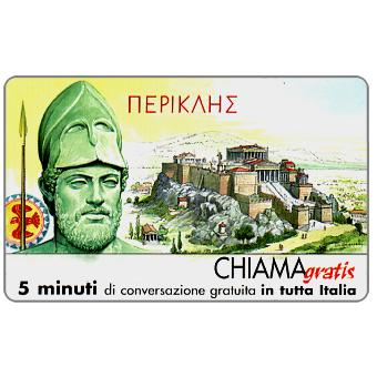 Phonecard for sale: Personaggi n. 18 – Pericle, 5 min.