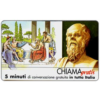 Phonecard for sale: Personaggi n. 19 – Socrate, 5 min.
