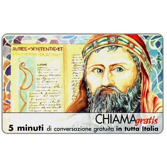 Phonecard for sale: Personaggi n. 20 – Platone, 5 min.