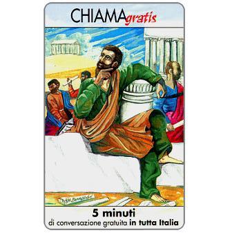 Phonecard for sale: Personaggi n. 21 – Aristotele, 5 min.