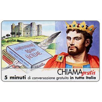 Personaggi n. 44 – Federico II di Sicilia, 5 min.