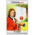 The Phonecard Shop: Personaggi n. 69 – Isaac Newton, 5 min.
